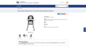 Graco-high-chair-recall-2018 Ozark Trail High Back Chair Tent Parts List Rocking Hazel Baby Doll Walmart Luxury Amloid My Graco Tablefit Rittenhouse For 4996 At 6in1 Recalled From Walmart 3in1 Convertible 7769 On Walmartcom Styles Trend Portable Chairs Design Swiftfold Briar Foldable Disney Simple Fold Plus 45 Evenflo Easy Facingwalls Raised Kids Deals Chicco Polly Progress 5in1 99 High Chair Coupons Beneful Dog Food Canada