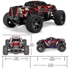 Amazon.com: Cheerwing 1:16 2.4Ghz 4WD High Speed RC Off-Road Monster ...