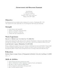 Federal Government Resume Sample Cover Letter Glamorous Samples