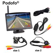 Wireless Car Backup Camera System 5