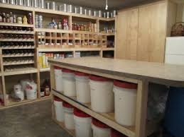 Custom Basement Food Storage