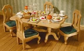 Dining Room Set By Sylvanian Families