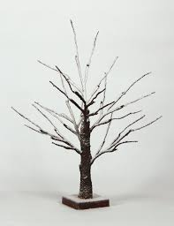 3ft Pre Lit Blossom Christmas Tree by Amazon Com Lightshare Lighted Snow Dusted Bonsai Tree With 24 Led