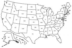 Us Map Transparent Background