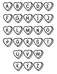 ABC Coloring Pages Free Printable Abc For Kids Site