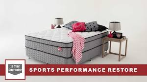 Sleepys Bed Frames by Sleepy U0027s Sports Performance Restore Range Youtube