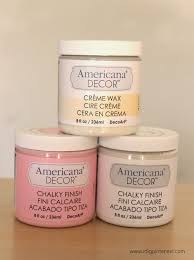 Americana Decor Creme Wax 8 Oz Clear by Dresser Makeover With Americana Decor Chalky Finish Paints I
