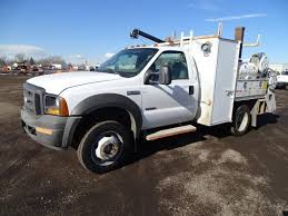 100 Diesel Truck Service Lot 2005 FORD F550 XL 4x4 Super Duty Power Stroke V8