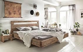 woodkings holz bett 180 200 marton doppelbett akazie gebürstet schlafzimmer massivholz design doppelbett schwebebett naturmöbel echtholzmöbel