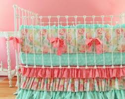 Coral And Navy Baby Bedding by Best 25 Coral Baby Bedding Ideas On Pinterest Coral Girls Rooms