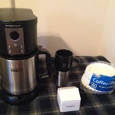 Hamilton Beach Stay Or Go Coffee Maker With Stainless Steel Thermal Pot