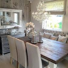 Rustic Country Dining Room Idea Decoration Ideas