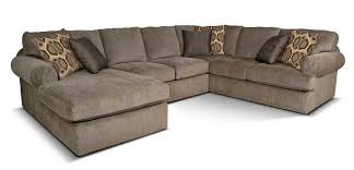 England Abbie Left Chaise Sectional Sofa with Cushions