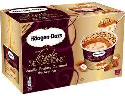 crèmes glacées bacs et pots de glaces erhard häagen dazs