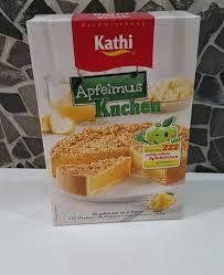 wir testen produkte kathi backmischung apfelmus kuchen