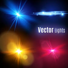 Realistic Lens Flare Elements Collection Light Effect Transparent Designyellow Glowing Explodes