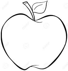 Of Apples To Color Coloring Pages Apple Pictures An For Kids Calories In
