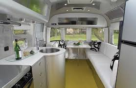 Christopher C Deam Designed The Interior Of Airstream Sterling Concept Trailer