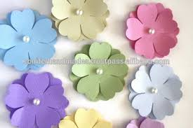 Die Cut Paper Flowers For Scrapbooking Kids Crafts Art And
