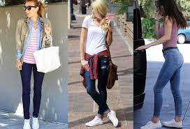 How To Wear White Converse With Jeans
