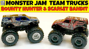 MONSTER JAM TEAM TRUCKS Bounty Hunter & Scarlet Bandit - YouTube Monster Jam World Finals Xvii Competitors Announced Bounty Hunter Win In St Louis Featuring Arlin Hot Wheels Year 2014 124 Scale Die Cast Metal Body Yuge Truck Weekend Trac In Pasco Rev Tredz New Hotwheels 5 Trucks Wiki Fandom Powered By The Of Gord Toronto 2018 Jacobkhan Sport Mod Trigger King Rc Radio Controlled Hollywood On Potomac Las Vegas Nevada Xvi Racing March 27