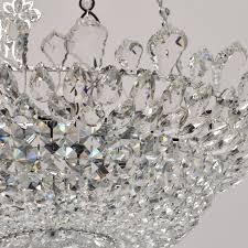 mw light 447010512 kronleuchter kristallglanz für wohnzimmer