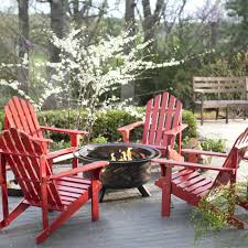 Agio Patio Furniture Covers by Fire Pits Large Lot W Mature Trees And Newly Built Stone Fire