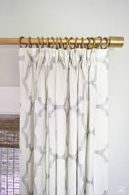 Telescoping Curtain Rod Set by Top 25 Best Brass Curtain Rods Ideas On Pinterest Pink Home