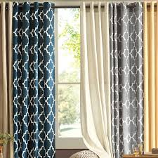 White Blackout Curtains Kohls by Decor 94 Inch Curtains Kohls Window Treatments Window Valances