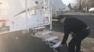 100 Truck Camper Steps Introducing The GlowStep Stow N Go Truck Camper Step YouTube