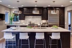 houzz feature pendant lights illuminate kitchen island drury