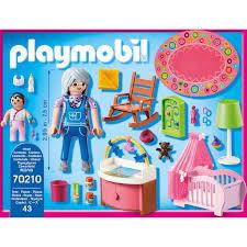 playmobil konstruktions spielset babyzimmer 70210 dollhouse 43 st made in germany
