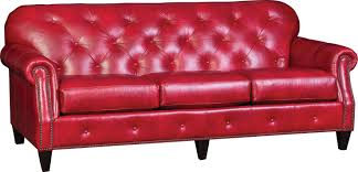 2262L Sofa In Heirloom Blaze Red | Leather Sofa, Home Decor ...