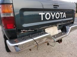 100 Toyota 4 Cylinder Trucks 1995 Truck X Wd 5 Speed Pre Tacoma Hilux Truck