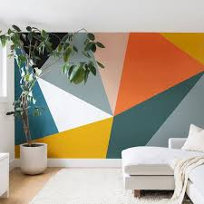 33 Best Geometric Wall Art Paint Design Ideas Street Art
