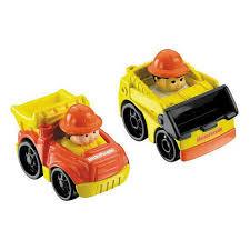 100 Little People Dump Truck FisherPrice Wheelies 2Pack Loader Buy