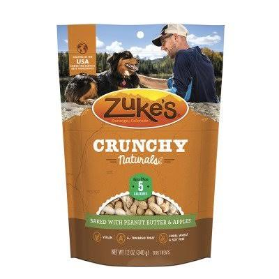 Zuke's Crunchy Naturals 5S Baked with Peanut Butter & Apples Dog Treats - 12 oz.