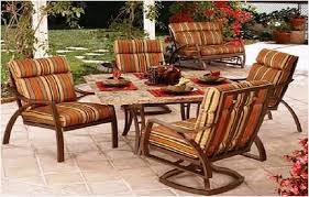 Patio Cushions Home Depot by Patio Chairs With Cushions Enhance First Impression Melissal Gill
