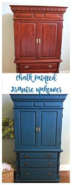 Chalk Painted Armoire Makeover - Aubusson Blue - 2 Bees In A Pod Bedroom Tv Armoire Best Home Design Ideas Stesyllabus Chalk Paint Makeover Nyc Armoires And Wardrobes For Your Or Apartment At Abc Transformed Twicefishing Up With Artsy Custom Cabinet Desk Creative Of Doll Wardrobe Shabby Chic Light Blue Coat Closet Tammy Jewelry Multiple Colors By Acme 70acme97169 How To Install Mirrored Steveb Interior Distressed For Dinnerware Create A Awesome 19th Century French Antique