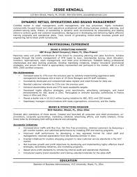 ResumeIt Manager Resume Examples Resumes For Operations Managers General And It