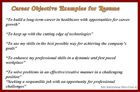 Career Objective For Resume Insurance Underwriter Sample Examples Marketing