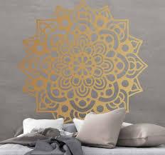 aufkleber floral luxus arabesken mandala