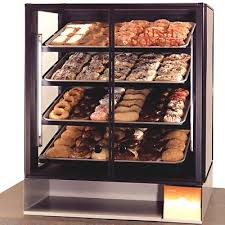 Browse More Non Refrigerated Display Cases Standard Gray Base Zoom Shown With Optional Laminate