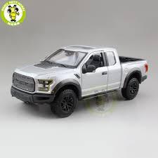 100 Ford Toy Trucks 124 F150 F 150 Raptor 2017 Pickup Diecast Metal Car
