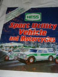 100 2004 Hess Truck HESS Toy BAG ONLY Sport Vehicle And Motorcycles