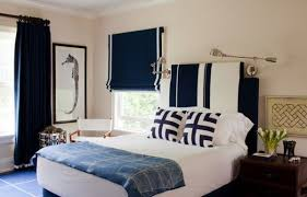 Navy Blue And White Make A Rich Refined Bold Combination For The Kids
