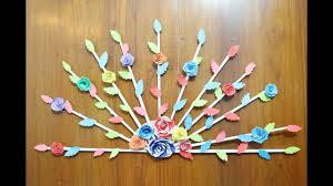 Diy Paper Crafts For Home Decor Door Idea On