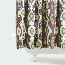 Purple Waterfall Ruffle Curtains by Purple And Green Plaid Shower Curtain Awesome 2 Image Of Ruffle