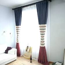 Walmart Curtains For Living Room by Curtain Lengths Walmart Navy Blue And Red Horizontal Striped