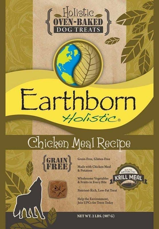 Earthborn Holistic Grain Dog Treats - Chicken Meal Recipe, 14oz